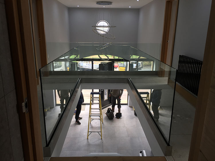 Glass Balustrades In Domestic Settings