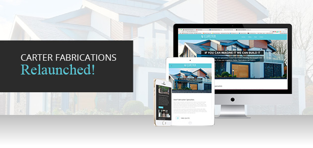 New Website for Carter Fabrications